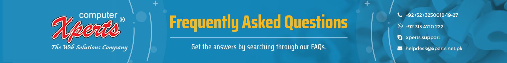 Xperts FAQ